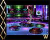 Neon Floating Dance Disc