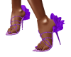 Mauve Petal Jewel heels