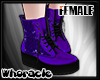 ✘Glam Boots [Purple]