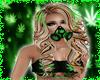 Weed Leaf Gas Mask