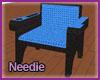 Urban Blue Club Chair