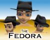 Fedora -Black Mens v3