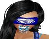 Blindfolds Mad blue