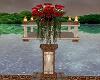 Red Roses Pedestal