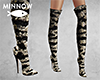Zebra Sequin Boot RLL