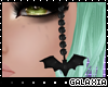☽  Bat headband