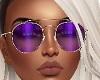 Sunglasses Purple