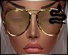 VIPER ~ Gold Glasses