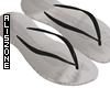 [AZ] Black flip flop