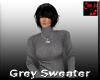 Grey Sweater Turtleneck