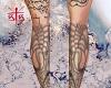 legs tattoos