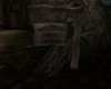 Witch's Hollow Sign