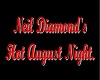 neil diamond room sign