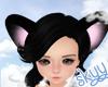 ❤ Black Mouse Ears