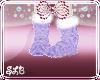 Child Purple KnitBoots
