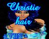 Christie hair blue dark