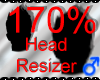 *M* Head Resizer 170%