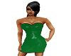 GREEN TREE PYTHON DRESS