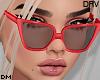 DM| Red Sunglasses