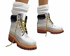 kids white tims boots