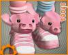 Pink Pig Sneakers