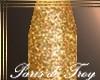 PdT Gold Glitter Nails