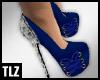 [TLZ]Blu Snake Bow Heels