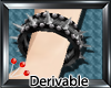 (S) Goth Spike Bracelt L