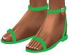 Green Riyna Sandals
