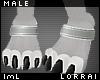 lmL Anklet Silver M