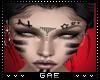 GA xyla face tattoo