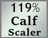 119% Calves Scale MA