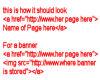 TSS HTML Code f/banners