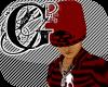 (90E) Red Rodulf Skull