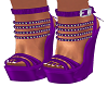 Purple Tasha Wedges