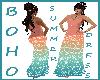 BOHO Summer Dress Blue