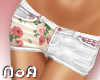 *NoA*White Jeans+Roses