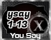 You Say - Cover