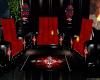Black and Red Couch
