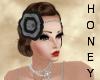 *h* 20's Headband Black