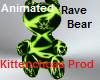 Animated rave bear