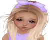 Kids Lavender Bow