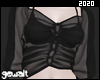 See-through Black Blouse