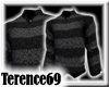 69 Sweater Stripe-Black