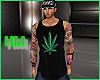 Pot Leaf Tank Top