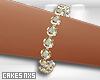 Diamond/Gold Tennis -L