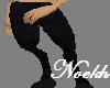 Black Wolf Legs