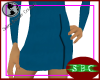 TOS Blue Skirt