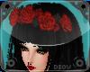 *D* Red Flower Crown