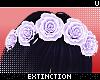 . yasei   flower crown